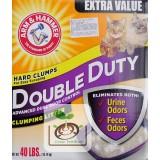 美國原裝ARM & HAMMER 鐵鎚牌加強除臭貓砂40磅(18.14kg)