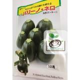 日本圓形綠色櫛瓜